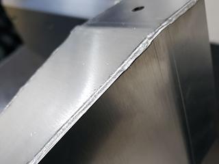ファイバーレーザ溶接による加工製品の一例