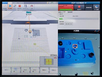 加工の高精度な品質管理を可能にする3次元測定機